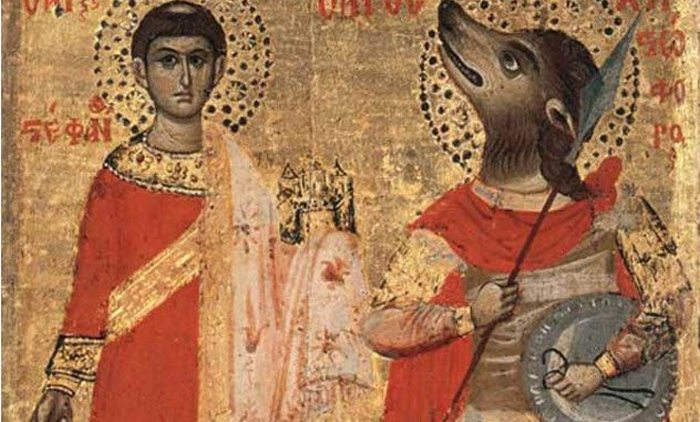 Покровитель детей Святой Гинфорт
